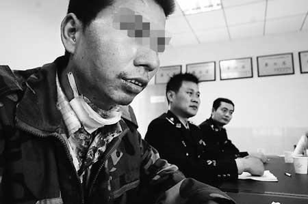 男子受伤不能干重活选择割喉自杀(图)_新闻中