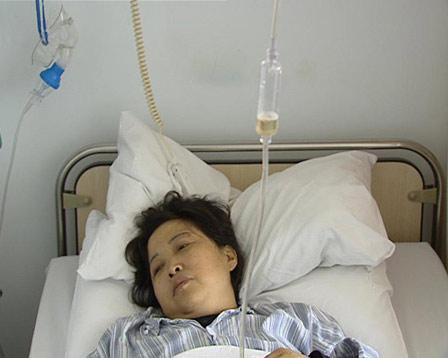 丈夫捐肾救助患绝症妻子(组图)