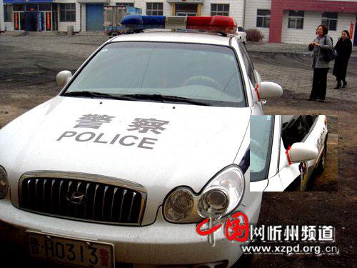 官员用警车为送葬车开道并围殴记者被撤职(图)
