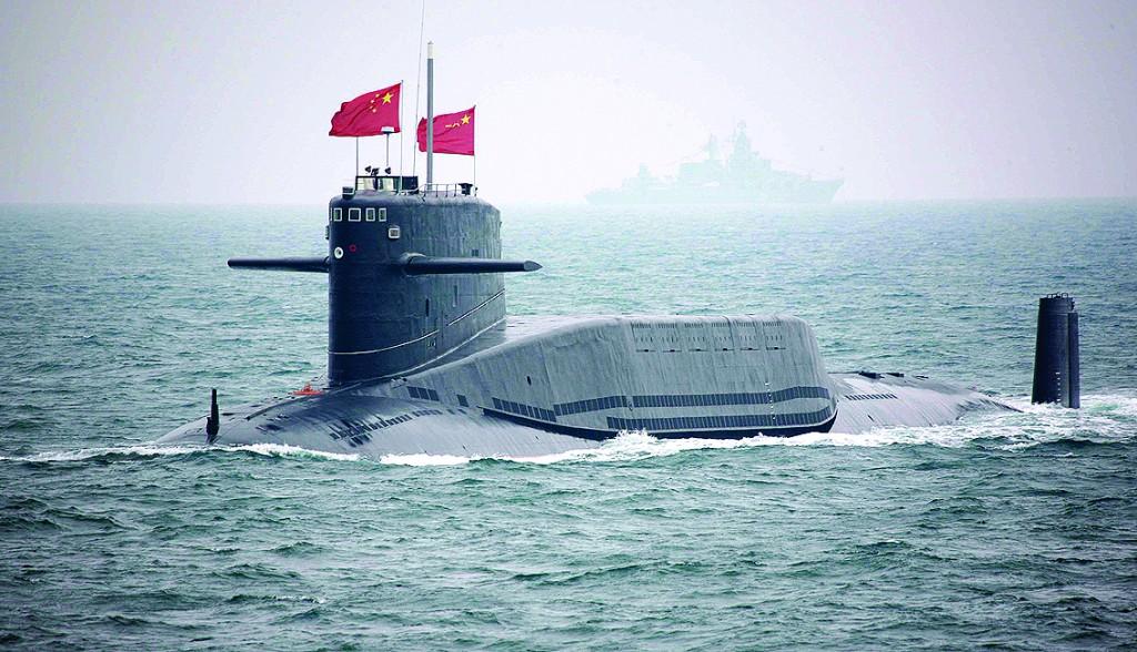 海上大阅兵庆祝六十华诞 中国海军完美