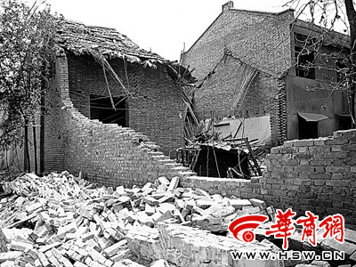 夫妇家中私制爆竹引发爆炸致1死1伤(图)