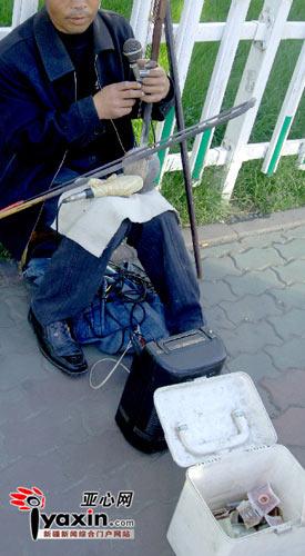 职业乞讨者乘飞机到乌鲁木齐乞讨(图)