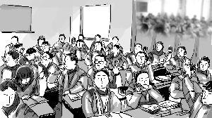 老师让全班同学打别班学生耳光 疑因被直呼姓名