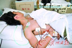 受伤的阿彬仍在医院接受治疗。