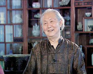 鉴定专家杨伯达 原故宫博物院副院长