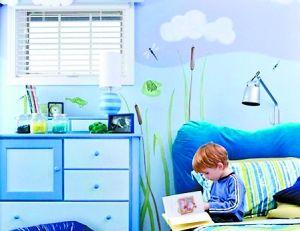 专家称儿童床头的夜灯不宜在孩子睡觉时长时间打开。 (资料图片)