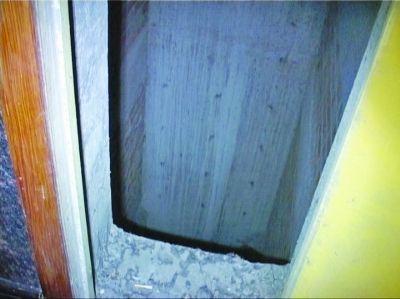 黑漆漆的电梯井深不见底。