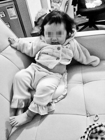 丢失的女婴。供图/香港警方