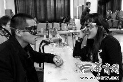 昨日,西安交大礼堂相亲会现场 华商报记者 汤继颖 摄