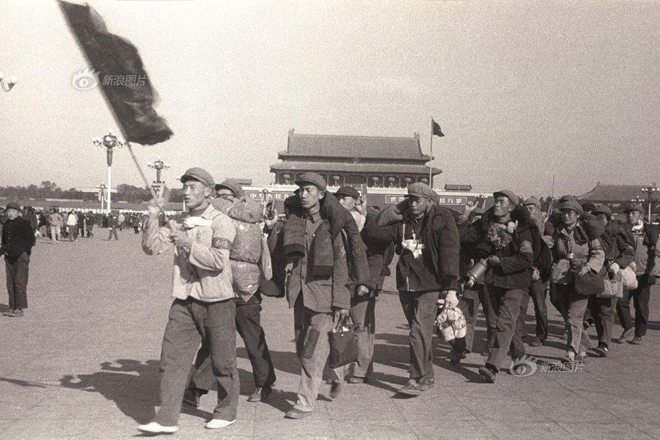 【老记拍照往事】红卫兵长征宣传队