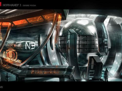 《质量效应3》原画