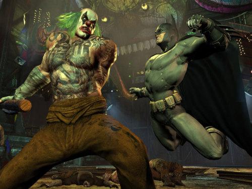 《蝙蝠侠:阿卡姆城》新图