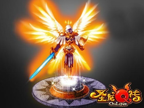 震撼的大天使
