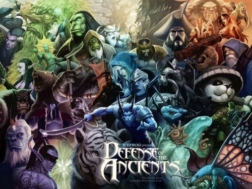 魔兽争霸经典RPG地图DOTA