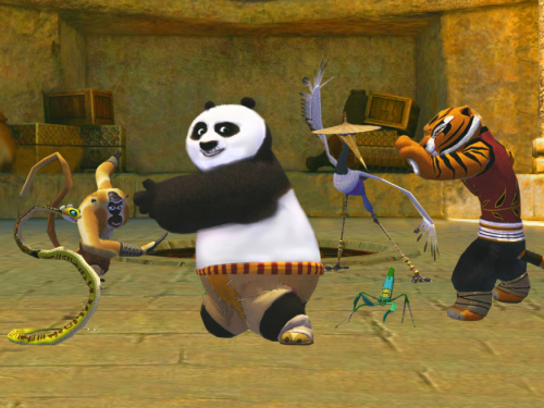 《功夫熊猫2》截图