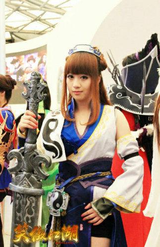图9:武当巨剑萝莉 女侠范儿十足