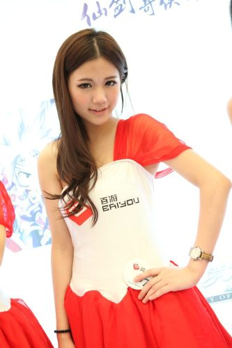 百游展台showgirl