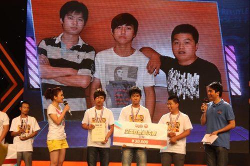 杭州队获得冠军