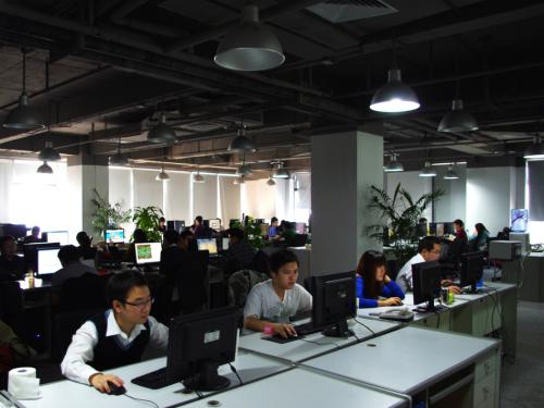 深圳淘乐办公环境
