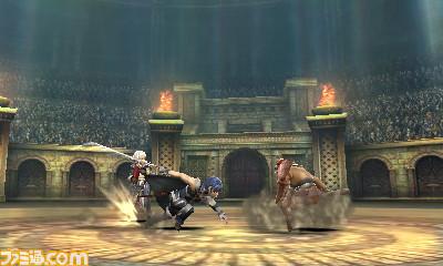 《火焰纹章》登陆3DS 首批游戏截图