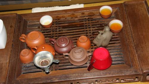 办公室中的茶具