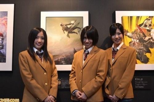 《刺客信条:启示录》举办艺术画展 SKE48应援