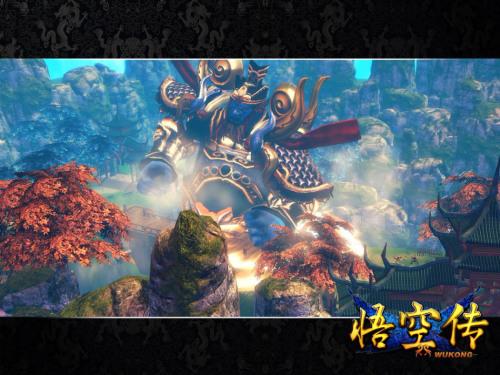 《悟空传》巨灵神侵袭花果山