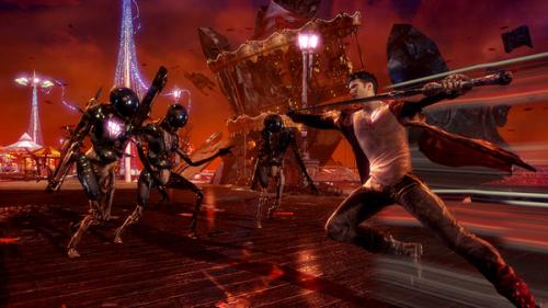《DMC:鬼泣》最新艺术设定图和游戏截图