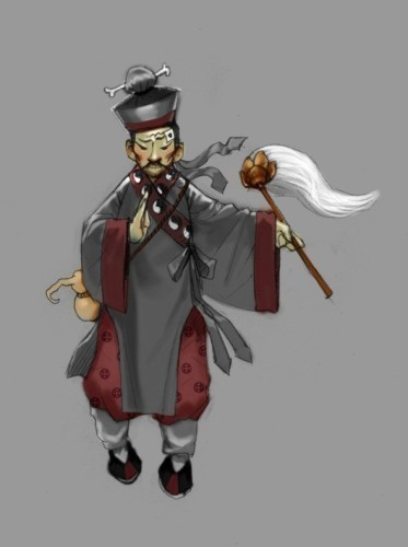 还珠格格中的人物原画