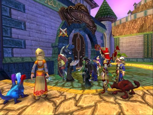 游戏内不同角色截图