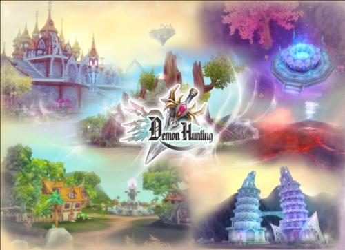 猎魔是天成胜境研发的全3D魔幻网页游戏