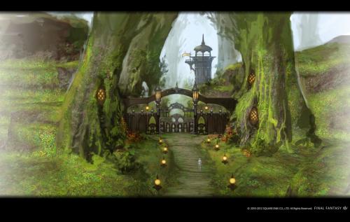《最终幻想14》2.0新截图