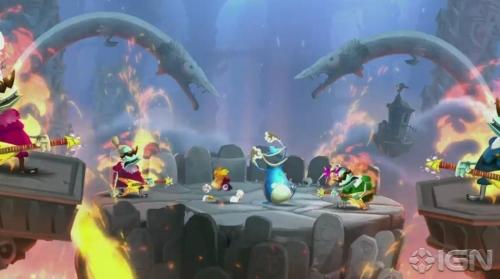 E3 2012《雷曼传奇》截图