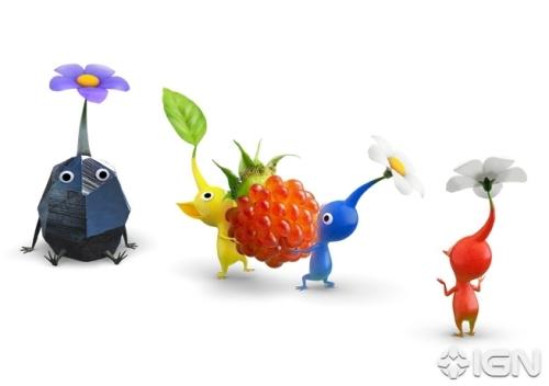 E3 2012:WiiU《皮克敏3》首批游戏画面