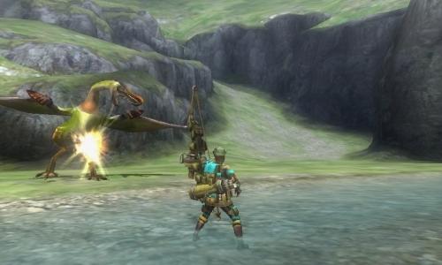 《怪物猎人3:终极》最新截图
