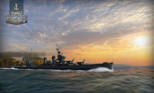 《战舰世界》首批精美截图
