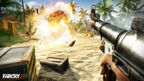 《孤岛惊魂3》游戏截图