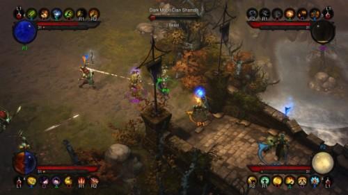 PS3版《暗黑破坏神3》多人模式截图
