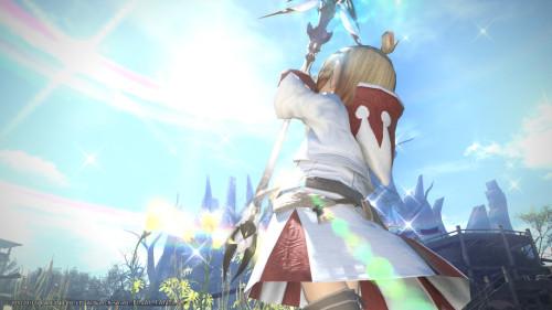 《最终幻想14》PC版游戏画面