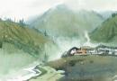 川西小景   28  40  1981年