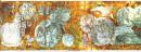 生命之歌局部之一  全长8000cm×200cm  1995年