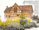 莎士比亚故乡的老屋(英国)2008