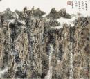 山叠水碧 40x45cm 2009年