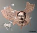 《解放中国》100X80cm  2011年