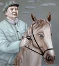 《毛主席骑马》