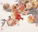 《花鸟小品之五》38乘45厘米