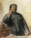 毛主席转战陕北(组画之六)