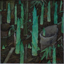 1999年 《生命》油画 47x47cm
