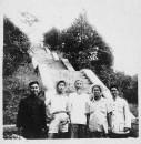1962年9月与钱松岩、陈大羽等在泰山白龙潭