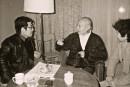 1980年代与刘海粟先生谈艺于金陵饭店